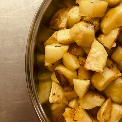 patate arrosto - Agriturismo La Sequoia
